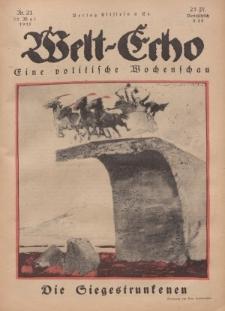 Welt Echo: Eine politische Wochenschau, 22. Mai 1919, Nr 21.
