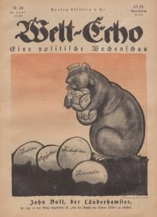 Welt Echo: Eine politische Wochenschau, 26. Juni 1919, Nr 26.