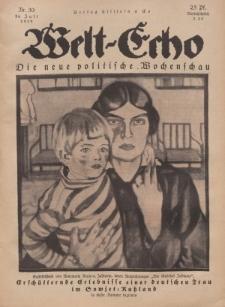 Welt Echo: Eine politische Wochenschau, 24. Juli 1919, Nr 30.