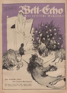 Welt Echo: Eine politische Wochenschau, 31. Juli 1919, Nr 31.