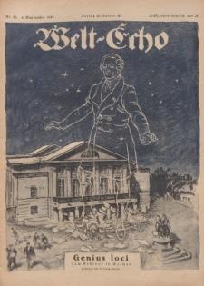 Welt Echo: Eine politische Wochenschau, 4. September 1919, Nr 36.