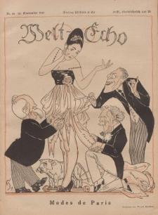 Welt Echo: Eine politische Wochenschau, 25. September 1919, Nr 39.