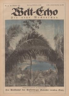 Welt Echo: Eine politische Wochenschau, 30. Oktober 1919, Nr 44.