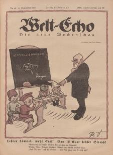 Welt Echo: Eine politische Wochenschau, 6. November 1919, Nr 45.