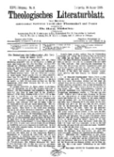Theologisches Literaturblatt, 13. Januar 1905, Nr 2.