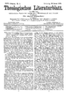 Theologisches Literaturblatt, 20. Januar 1905, Nr 3.
