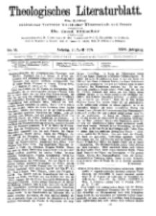 Theologisches Literaturblatt, 21. April 1905, Nr 16.