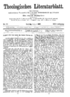 Theologisches Literaturblatt, 2. Juni 1905, Nr 22.