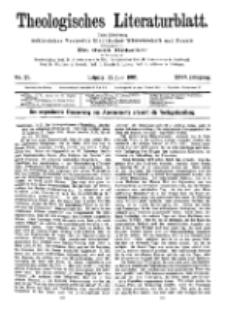 Theologisches Literaturblatt, 23. Juni 1905, Nr 25.