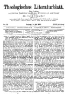 Theologisches Literaturblatt, 28. Juli 1905, Nr 30.