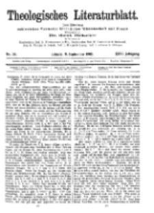Theologisches Literaturblatt, 8. September 1905, Nr 36.