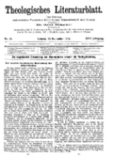 Theologisches Literaturblatt, 22. September 1905, Nr 38.