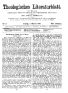 Theologisches Literaturblatt, 13. Oktober 1905, Nr 41.