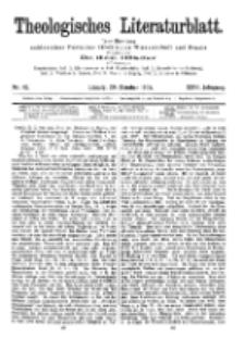 Theologisches Literaturblatt, 20. Oktober 1905, Nr 42.