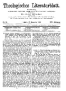 Theologisches Literaturblatt, 15. Dezember 1905, Nr 50.