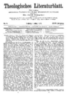 Theologisches Literaturblatt, 2. März 1906, Nr 9.