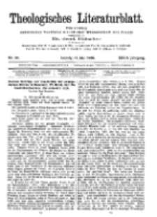 Theologisches Literaturblatt, 18. Mai 1906, Nr 20.