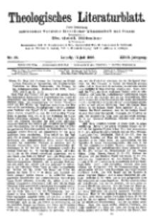 Theologisches Literaturblatt, 13. Juli 1906, Nr 28.