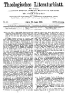 Theologisches Literaturblatt, 10. August 1906, Nr 32.