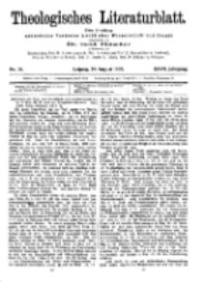 Theologisches Literaturblatt, 24. August 1906, Nr 34.