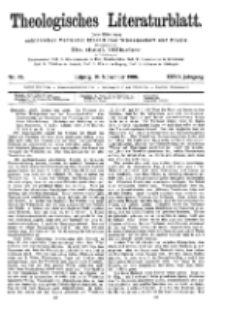 Theologisches Literaturblatt, 16. November 1906, Nr 46.