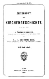 Zeitschrift für Kirchengeschichte, 1898, Bd. 19, H. 1.