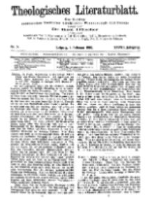 Theologisches Literaturblatt, 8. Februar 1907, Nr 6.