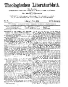 Theologisches Literaturblatt, 8. März 1907, Nr 10.