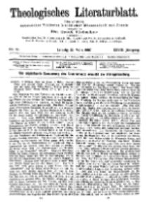 Theologisches Literaturblatt, 22. März 1907, Nr 12.