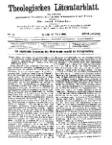 Theologisches Literaturblatt, 29. März 1907, Nr 13.
