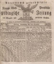 Elbingsche Zeitung, No. 97 Donnerstag, 3 Dezember 1829