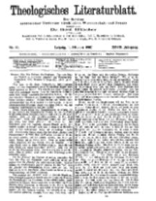 Theologisches Literaturblatt, 11. Oktober 1907, Nr 41.
