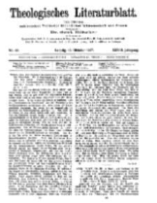 Theologisches Literaturblatt, 18. Oktober 1907, Nr 42.