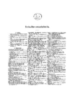 Theologisches Literaturblatt, 1908 (Inhaltsverzeichniß)