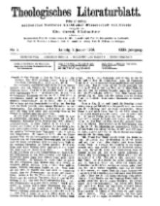 Theologisches Literaturblatt, 3. Januar 1908, Nr 1.