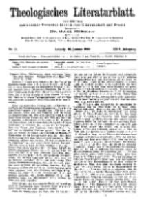 Theologisches Literaturblatt, 10. Januar 1908, Nr 2.