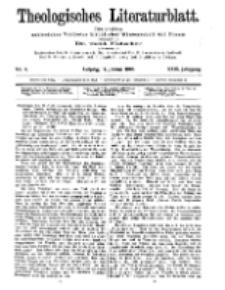 Theologisches Literaturblatt, 17. Januar 1908, Nr 3.