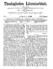 Theologisches Literaturblatt, 24. Januar 1908, Nr 4.