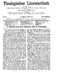 Theologisches Literaturblatt, 27. März 1908, Nr 13.