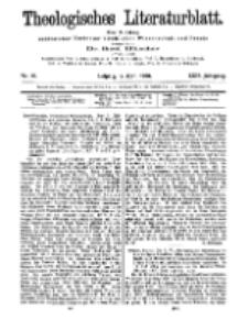 Theologisches Literaturblatt, 17. April 1908, Nr 16.
