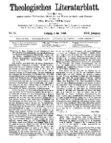 Theologisches Literaturblatt, 8. Mai 1908, Nr 19.