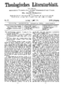 Theologisches Literaturblatt, 3. Juli 1908, Nr 27.