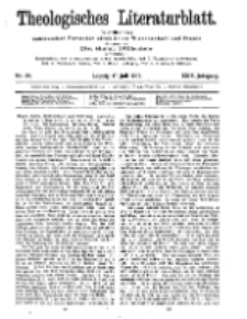 Theologisches Literaturblatt, 17. Juli 1908, Nr 29.