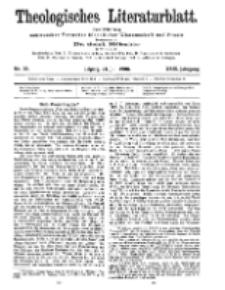 Theologisches Literaturblatt, 24. Juli 1908, Nr 30.