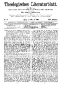 Theologisches Literaturblatt, 23. Oktober 1908, Nr 43.