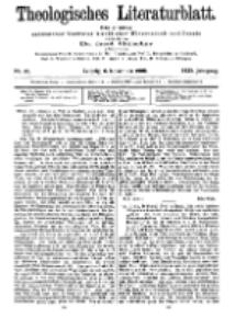 Theologisches Literaturblatt, 6. November 1908, Nr 45.