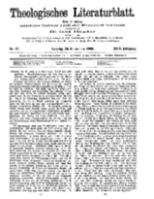 Theologisches Literaturblatt, 20. November 1908, Nr 47.