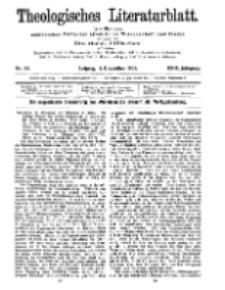 Theologisches Literaturblatt, 11. Dezember 1908, Nr 50.