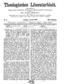 Theologisches Literaturblatt, 8. Januar 1909, Nr 2.