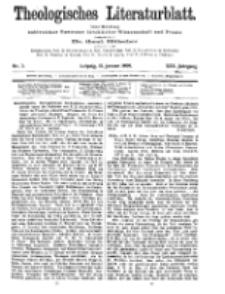 Theologisches Literaturblatt, 15. Januar 1909, Nr 3.